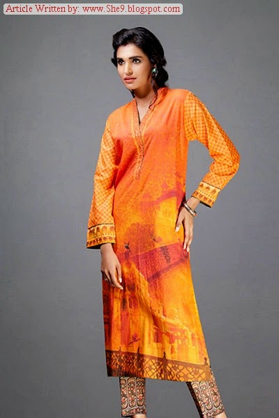 Gul Ahmed Ready to Wear Fall Collection 2014