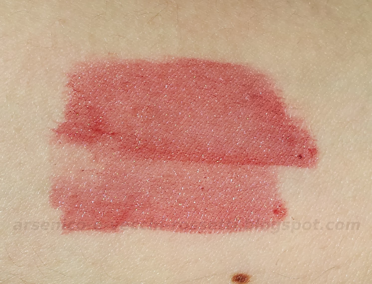 Essence tinta labbra Gel Tint #02 Deep Red swatch