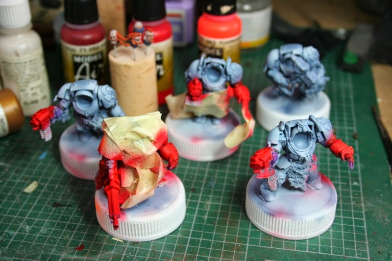 5 exterminadores de los Lobos Espaciales de la caja de Stormclaw