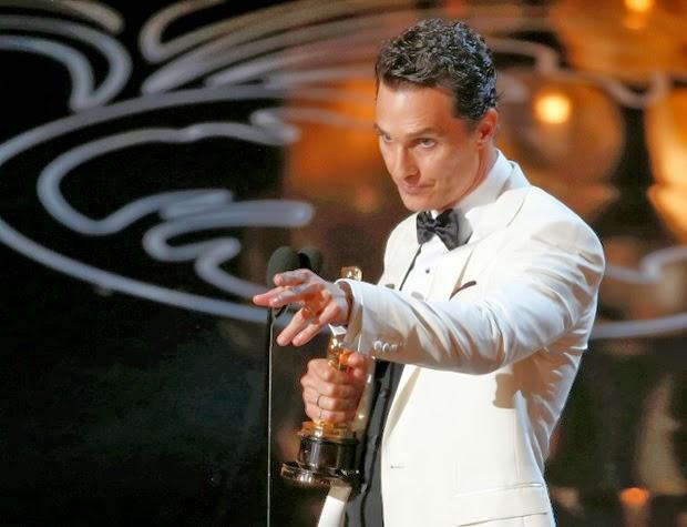 Matthew McConaughey óscars 2014