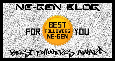Award NE-Gen Blog Followers
