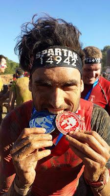 sergio turull pitufollow medalla finisher spartan race