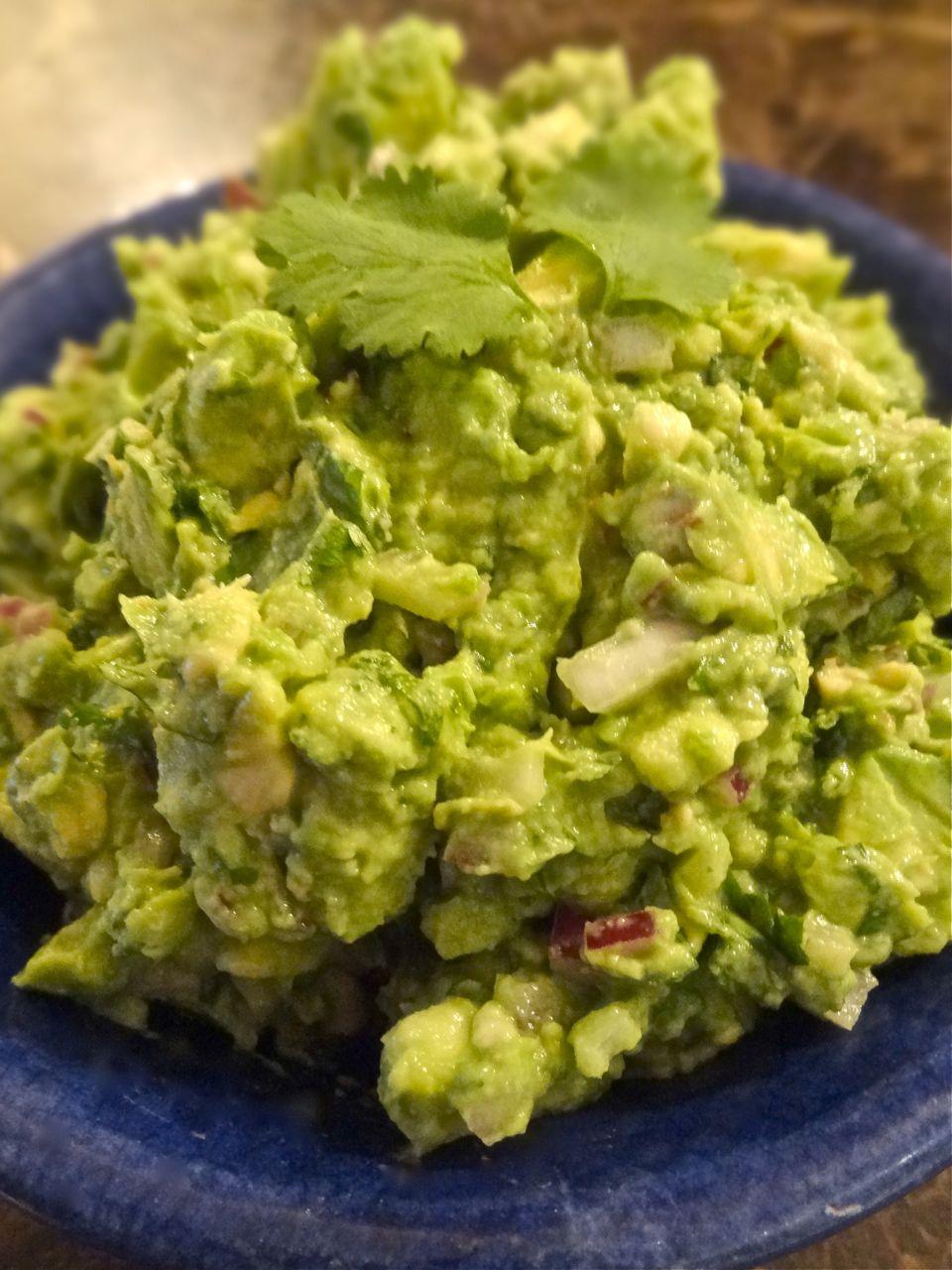 Creamy Guacamole Recipe — Dishmaps