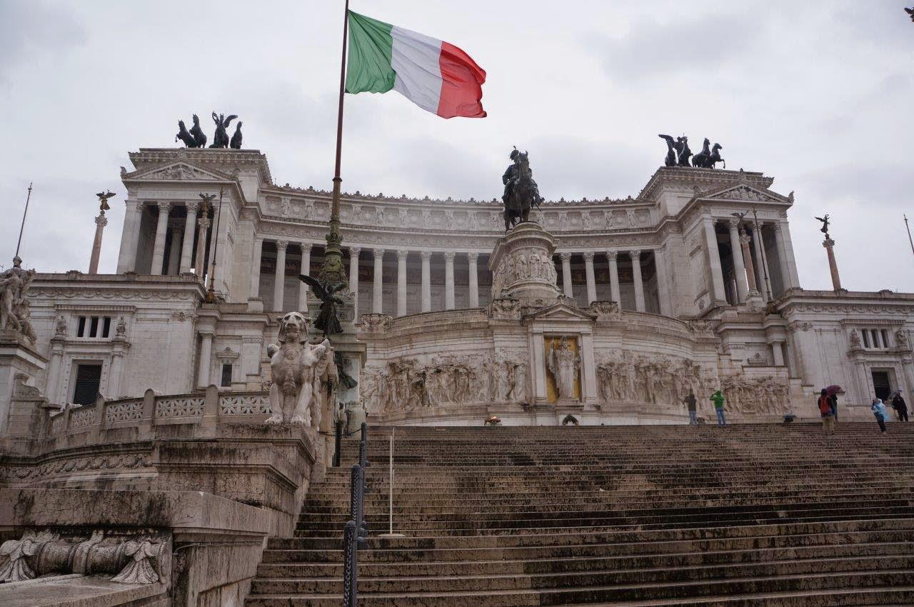 Beautiful museum in Rome Italy.
