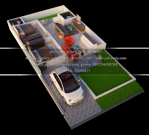 seputar dunia rumah desain rumah tipe 54 perumahan grand