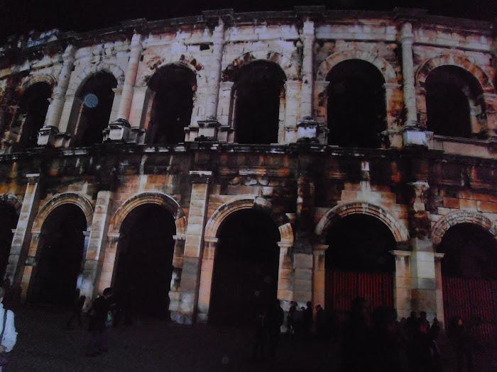 Les magnifiques arènes de Nîmes
