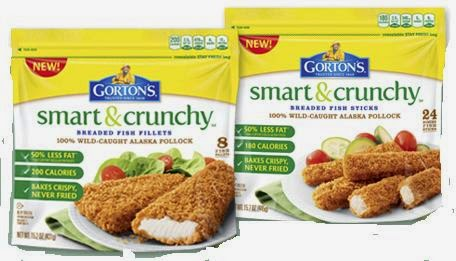 gortons smart and crunchy products