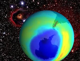Apakah Anda Mengurangi Ukuran Lubang di Lapisan Ozon?