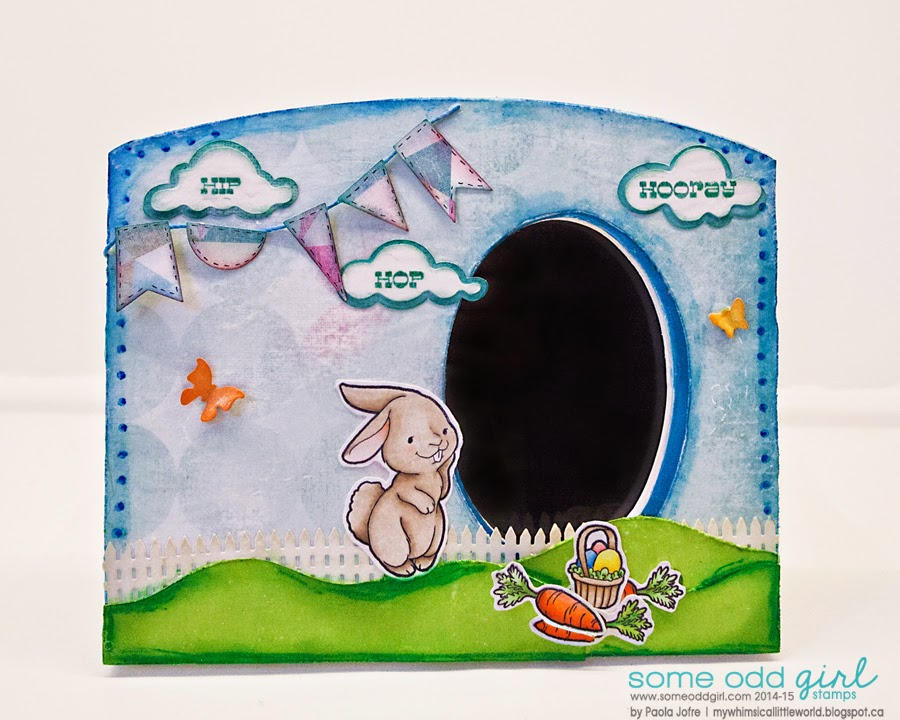 someoddgirl,hiphophooray,mixmedia,alter,copic,easter,paolajofre,silhouettecameo,layers,texture,clearstamp,stamping,crafting