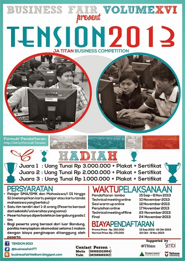 Business Plan Competition HIPMI 2013