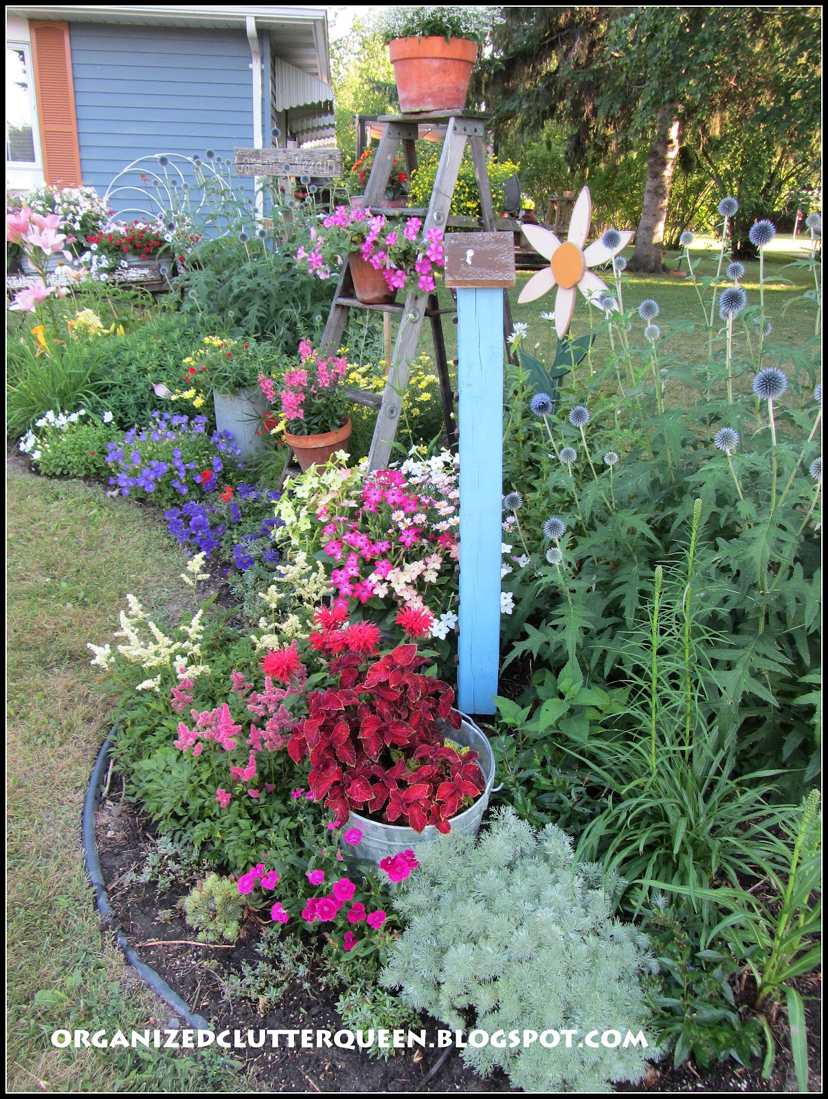 My Top Flower/Junk Garden Posts of 2012 | Organized Clutter