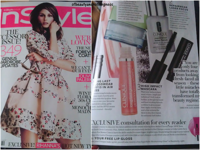 Instyle October Freebies!