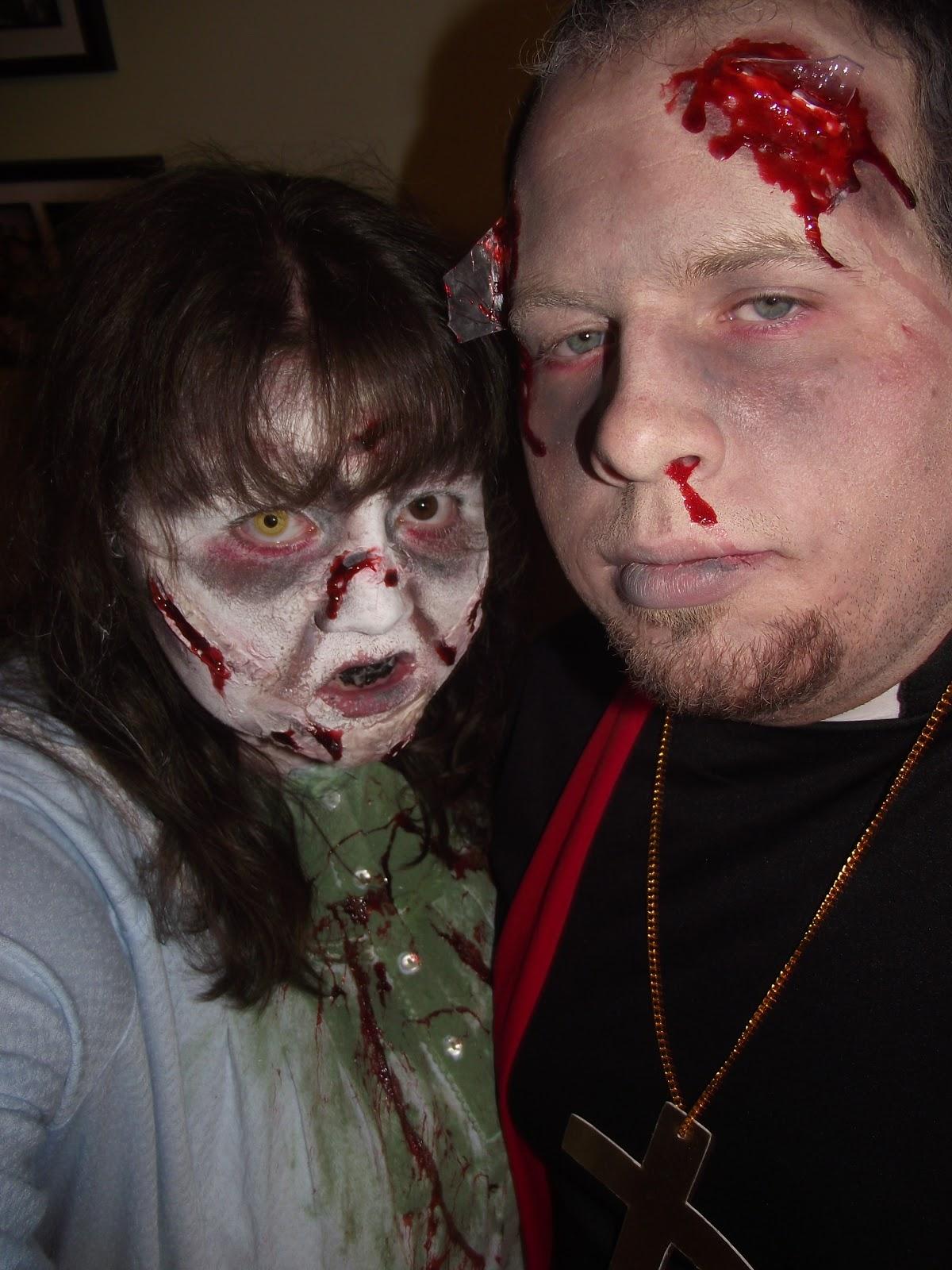 exorcist couple costumes