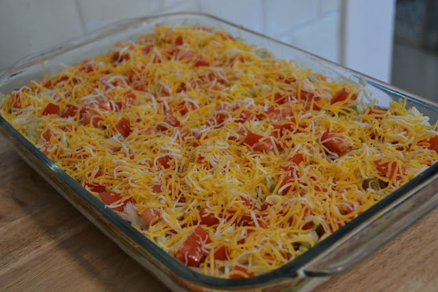 Skinny Layered Pizza Dip Recipe — Dishmaps