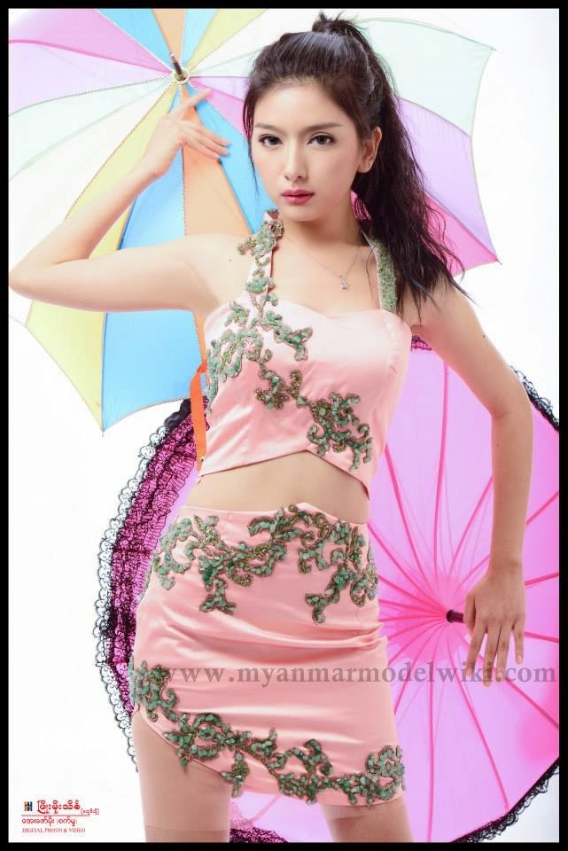 Myanmar Model Mo Mo Ko Beautiful Photoshoot