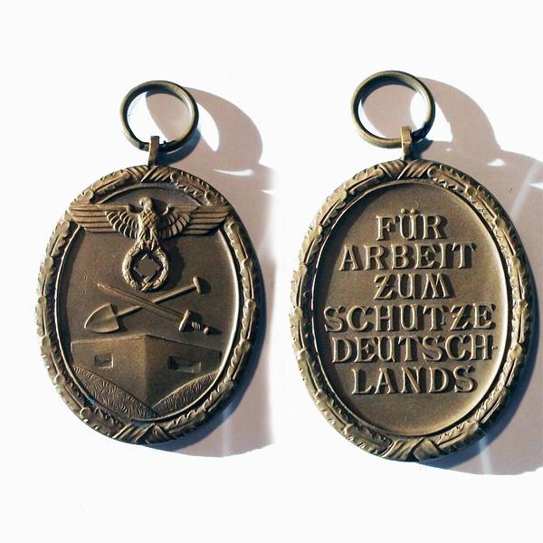medalla de defensa del muro