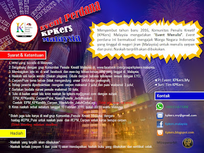 KPKers, kpkers malaysia, event kepenulisan, TKI Malaysia, dunia literasi malaysia,
