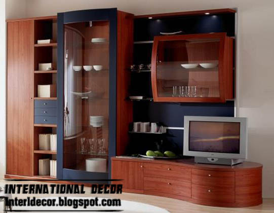 Modern TV wall units designs and TV shelving units pictures ...