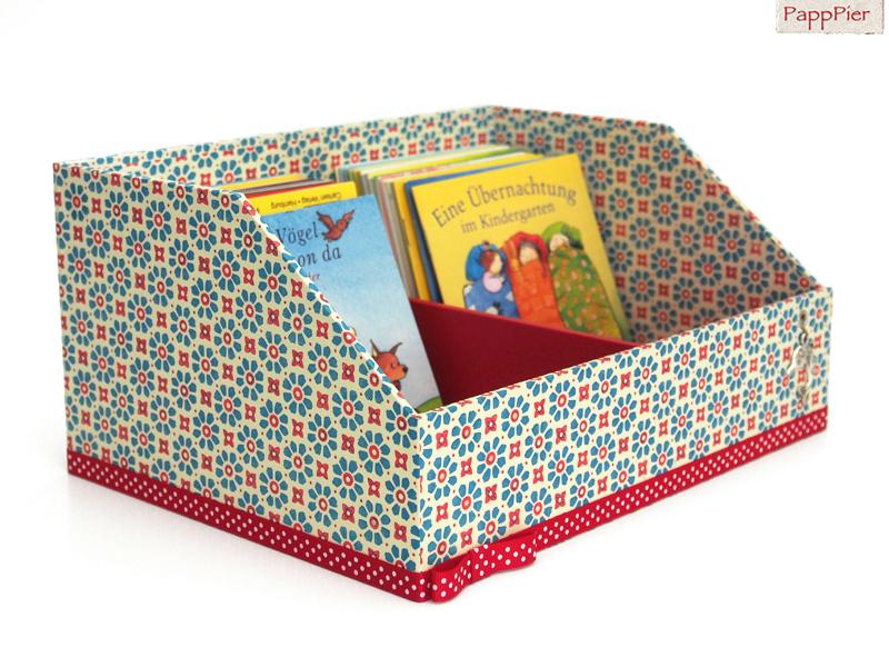 papppier schmuckbox schatulle box f r pixi b cher in. Black Bedroom Furniture Sets. Home Design Ideas