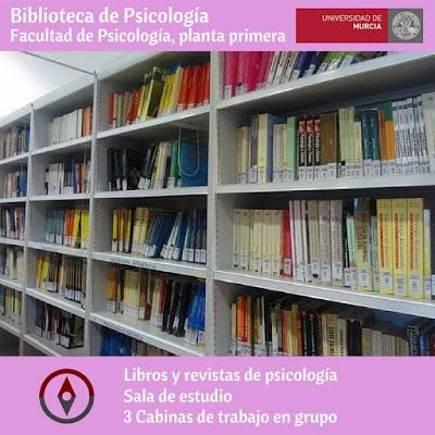 ¿Conoces la Biblioteca de Psicología?