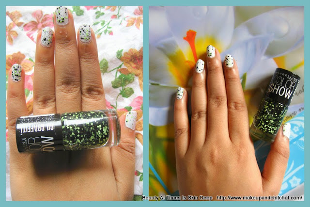 Maybelline Rebel Bouquet Colorshow Graffiti Nail Polish review