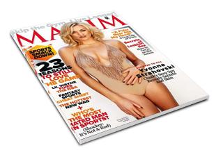 Revista Maxim USA Outubro 2011