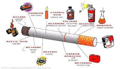 bagan penyakit rokok