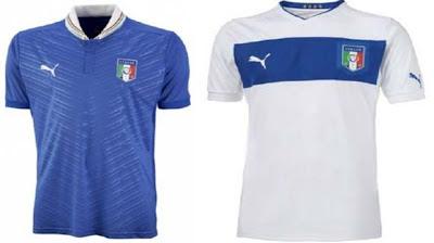Jersey kit Italy EURO 2012