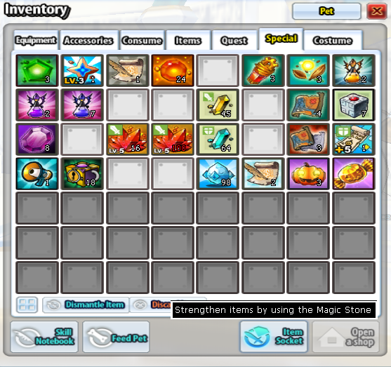 Elsword Equipment Socketing
