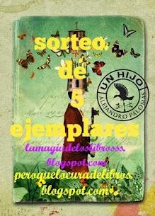 """SORTEO 10 EJEMPLARES DE """"EL HIJO"""" DE ALEJANDRO PALOMAS"""