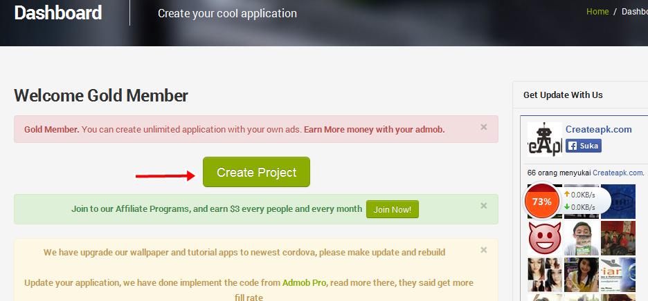 Cara Mudah Membuat Aplikasi Android Sendiri dengan Create Apk | Guntur ...