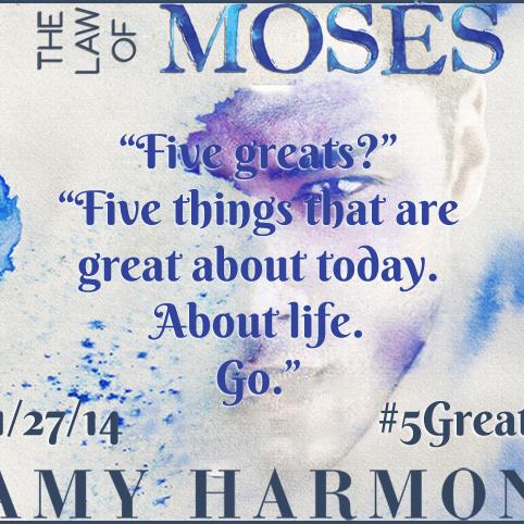 [Présentation] The law of Moses d'Amy Harmon