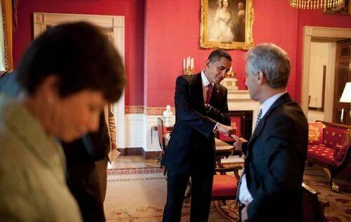 El puño de Obama