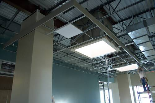 suspended ceiling is another option for your basement these ceilings