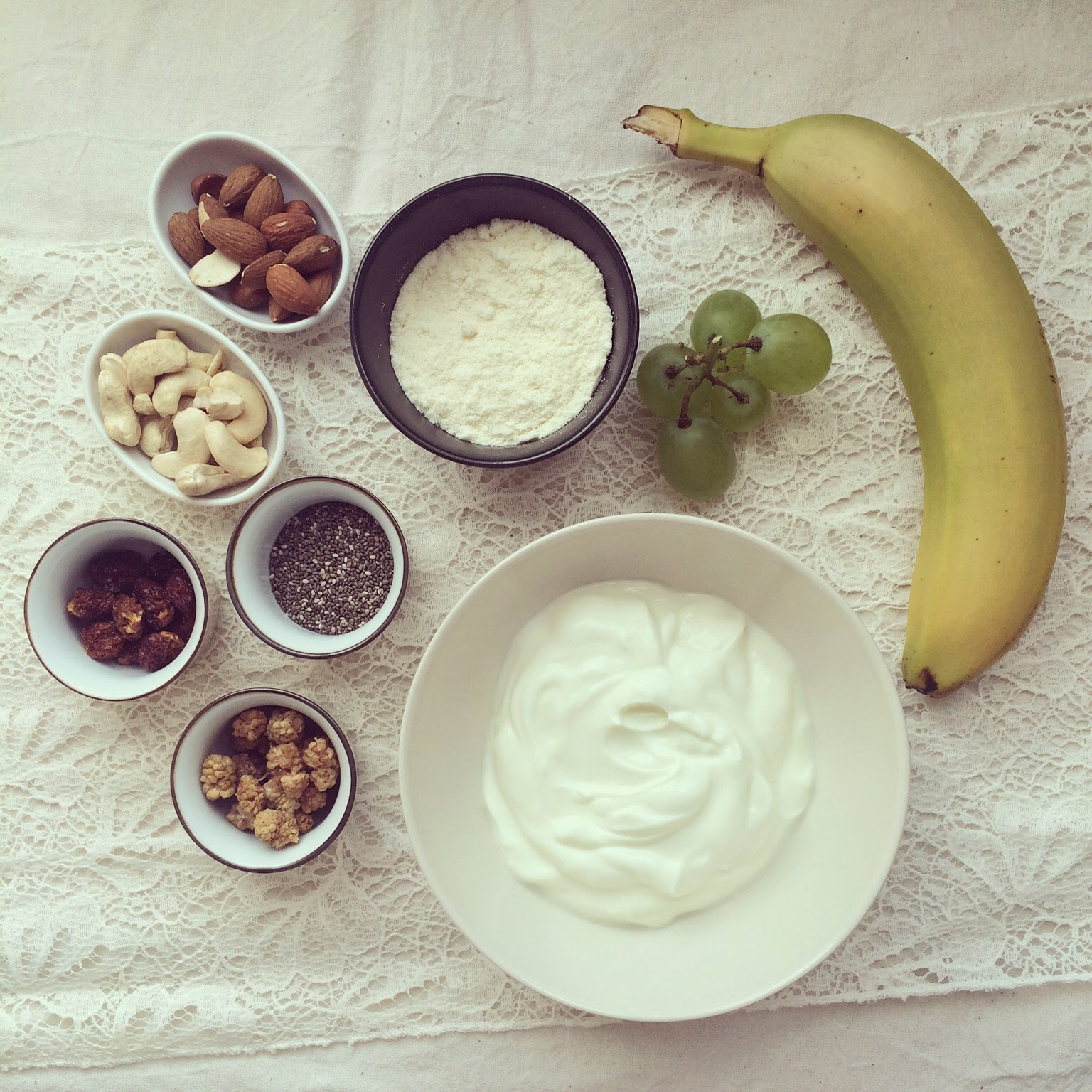 yaourt protéiné vanille banane