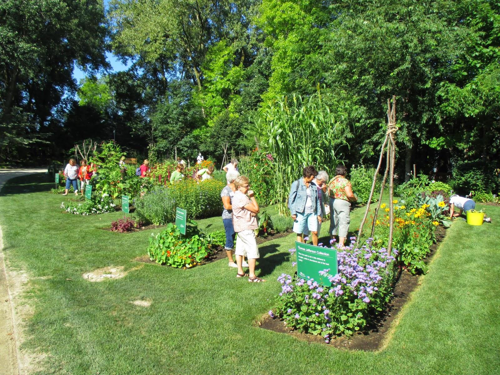A Nice Day For A Garden Tour