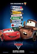 Hoje venho falar, e muito bem, sobre o último filme da Disney: Carros 2 .