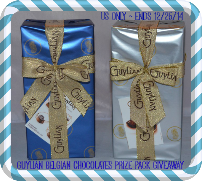 Enter the Guylian Belgian Chocolates Giveaway. Ends 12/25