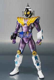 Bandai SH Figuarts Kamen Rider Fourze Meteor Nadeshiko Fusion States figure