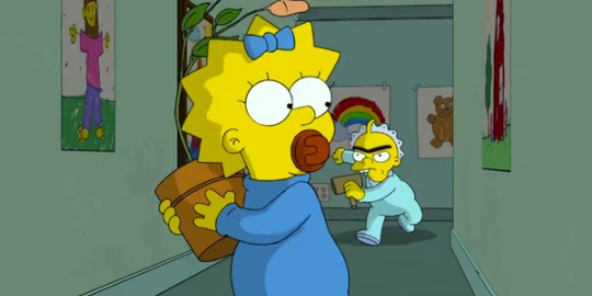 "Maggie Simpsons in ""The Longest Daycare"""