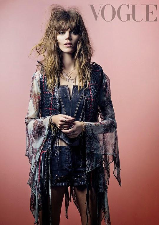 Freja Beha Erichsen Vogue UK