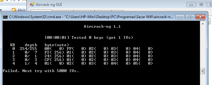 Comprobar seguridad wifi con commview for wifi  y aircrack