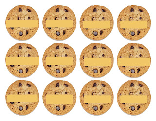 Pattern Printable Cookie Cake Ideas and Designs