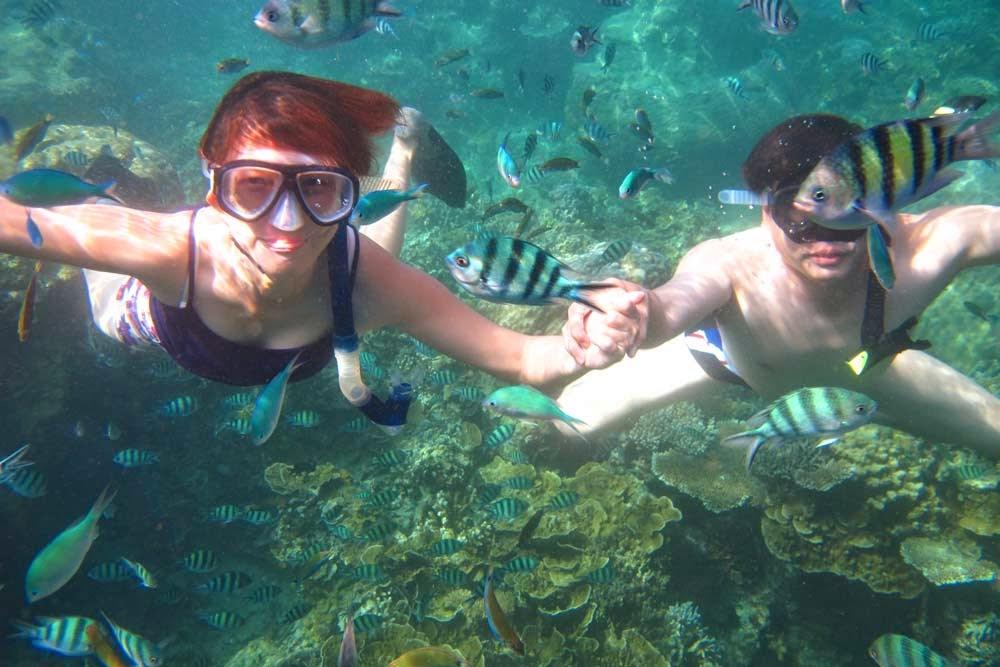 snorkeling di karimun jawa