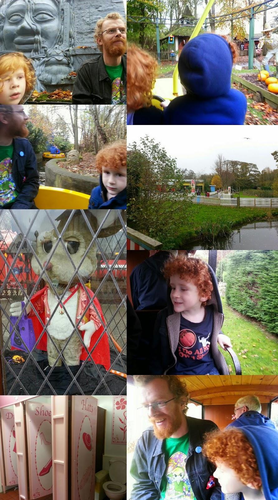 Gulliver's World Children's theme park in the northwest rides and amusements