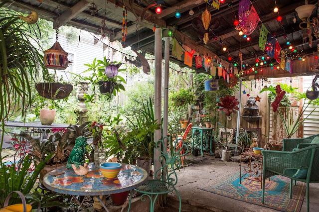 Punk in New Orleans - Einrichtung zum Selbermachen im entspannten Design: Garten und Terrasse