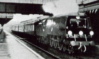 Royal Train en route to Gosport