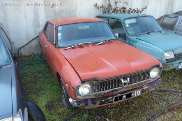 Rip Rust In Portugal 1972 Subaru Leone