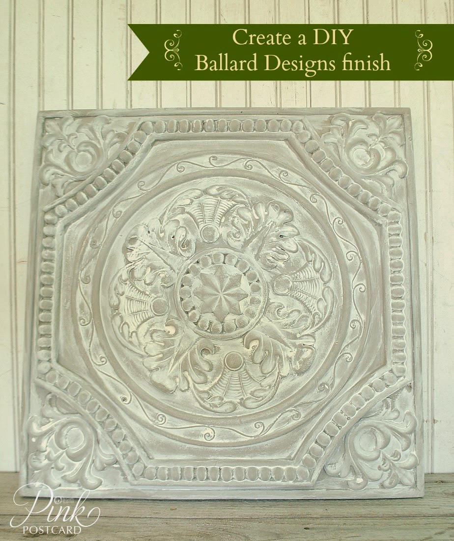 diy how to create a ballard designs finish noble vintage