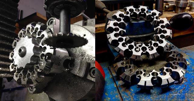 Abstract, Metal, Sculpture, Digital, Fabrication, Machining, Machinist, Machine work, Industrial Design, CADCAM,